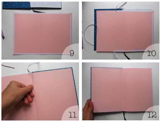How to: Cover a book in fabric - Crafted