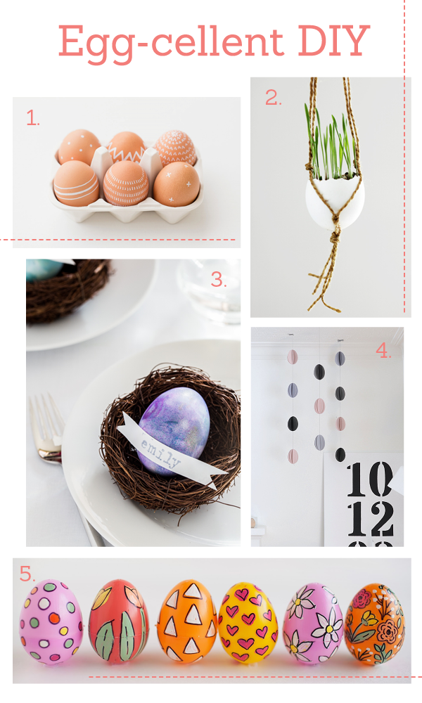 Eggcellent DIY ideas