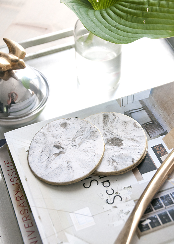 Trend I'm loving – DIY Faux Marble
