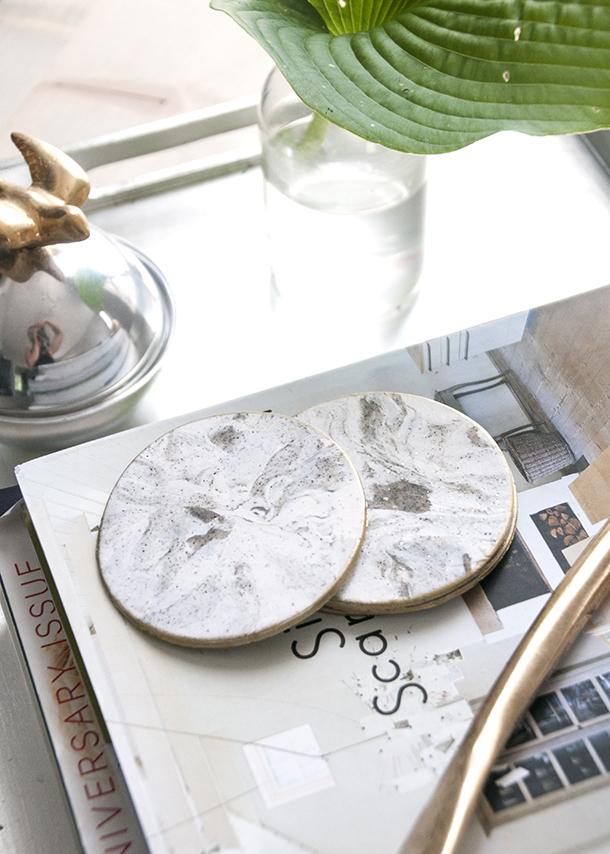 Trend I'm loving – DIY Faux Marble