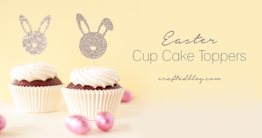 Easter Cupcake Toppers – Free Template