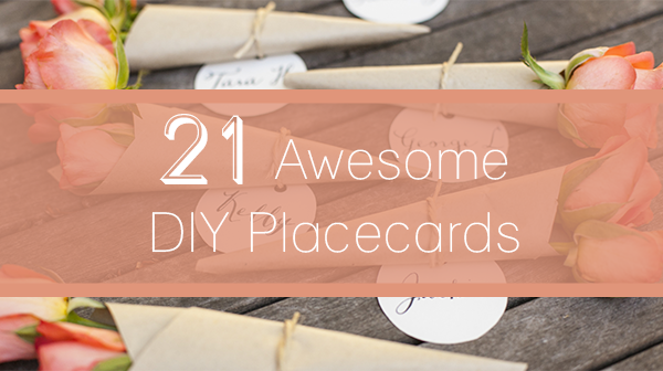 21 DIY Placecards