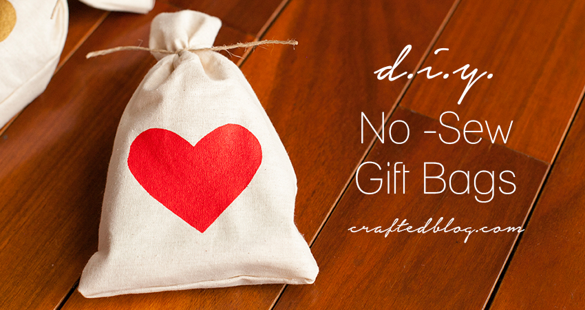DIY No-Sew Gift Bag