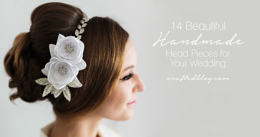 Beautiful Handmade Bridal Headpieces