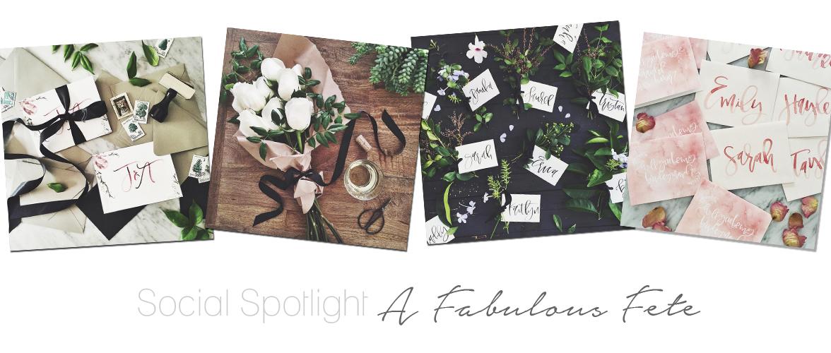 Social Spotlight – A Fabulous Fete