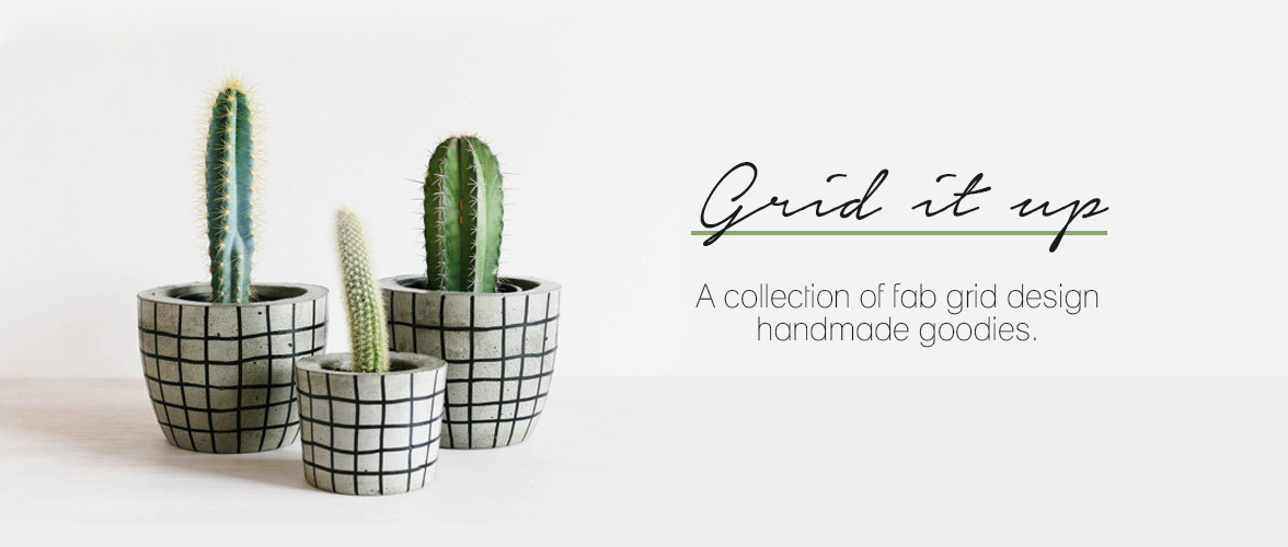 Handmade trend – Grid it up