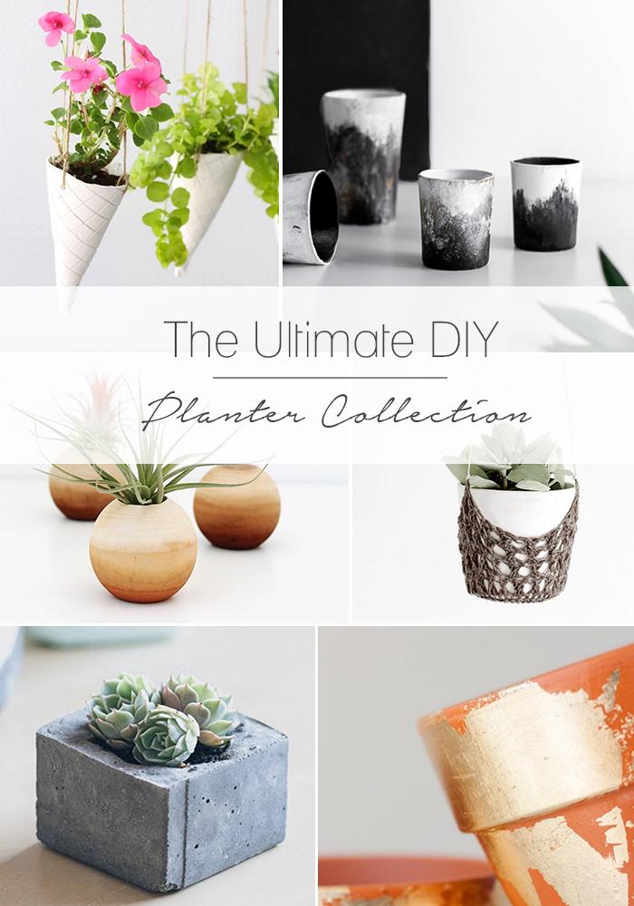 20+ DIY Planter Projects. TheCraftedBlog.com