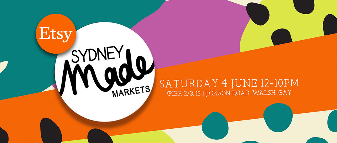Etsy Sydney Made Market – 4th June 2016