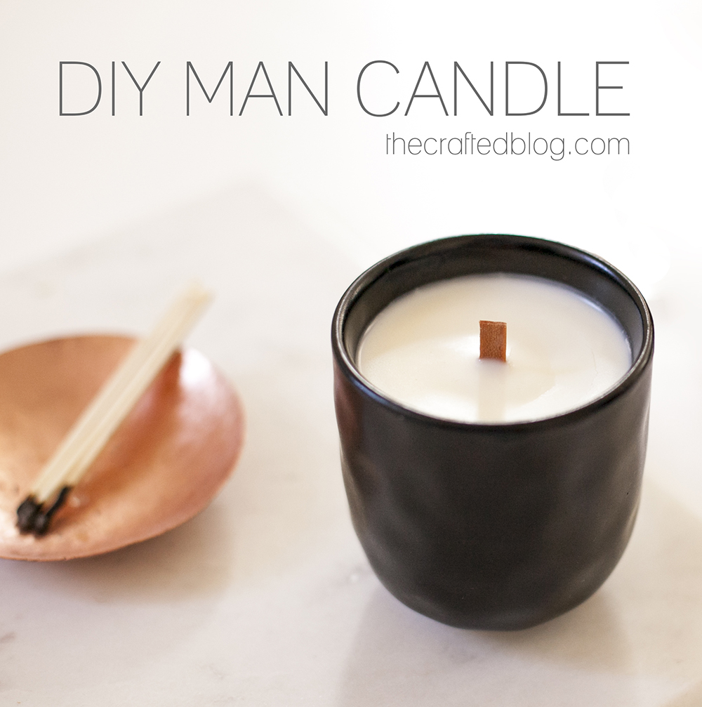 How to make a wood wick candle