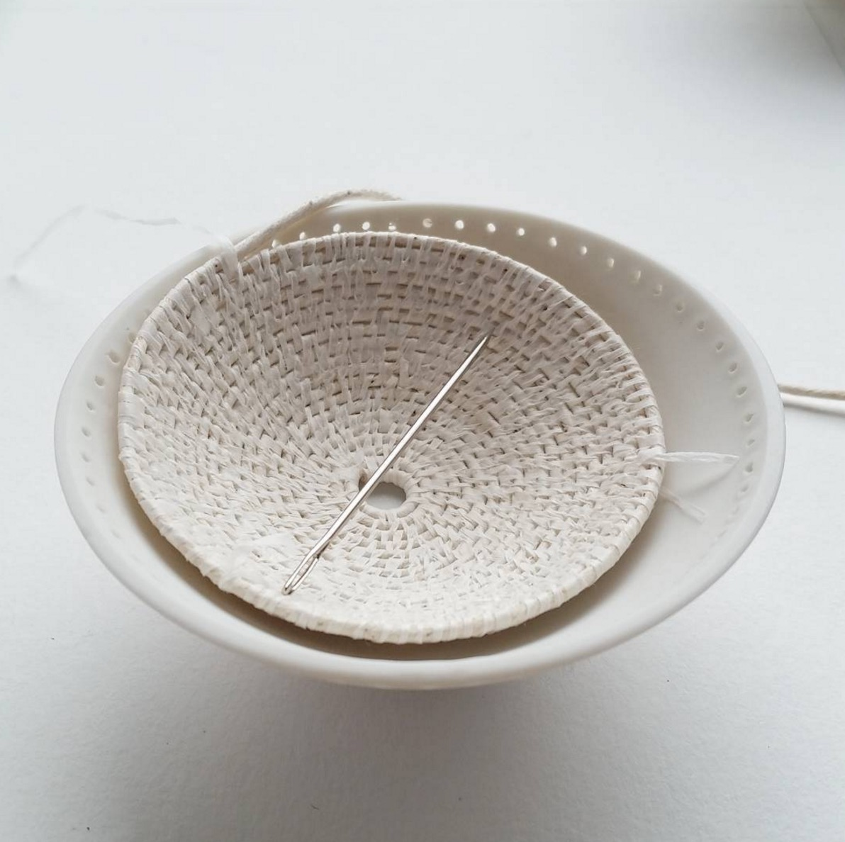 Weaving and Ceramics - Philippa Taylor