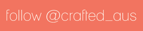 Follow Crafted on Instagram