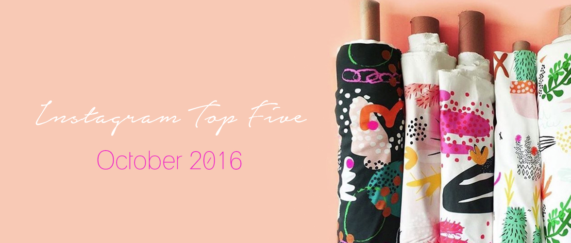 Instagram Top 5 – October 2016