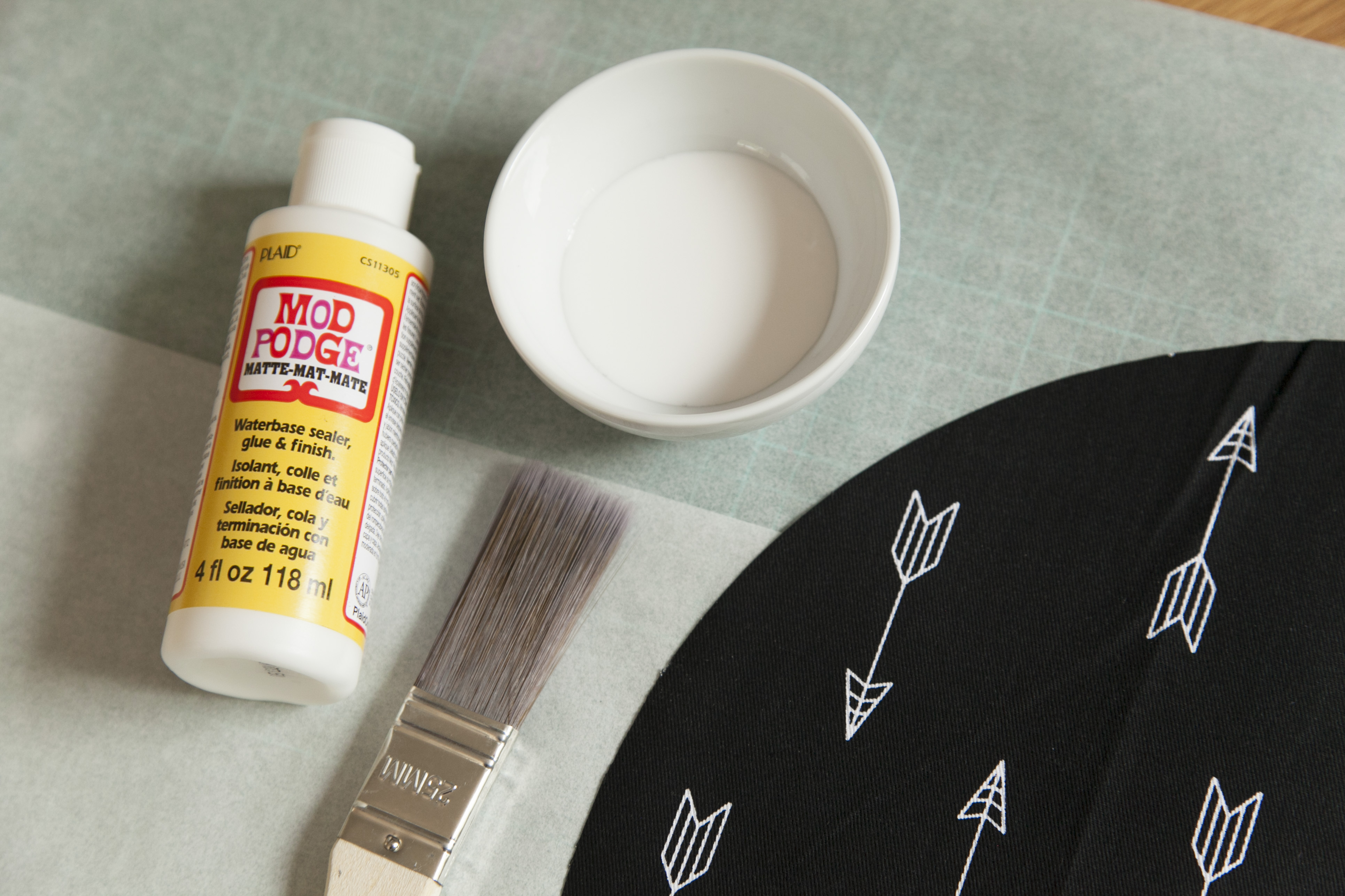 DIY Fabric Platemats