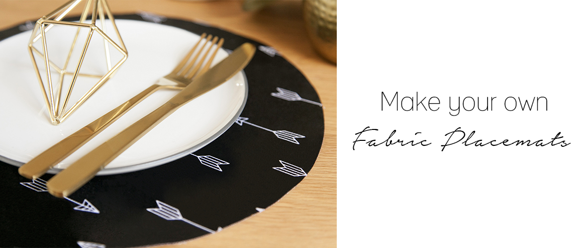 DIY Fabric Placemats